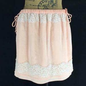 New Small Skirt Banana Republic Romantic Lace Tie